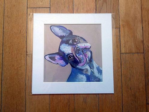 Alice - Boston Terrier Print