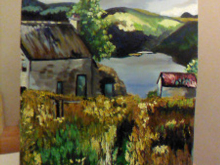 WIP – On route to Beinglas Farm