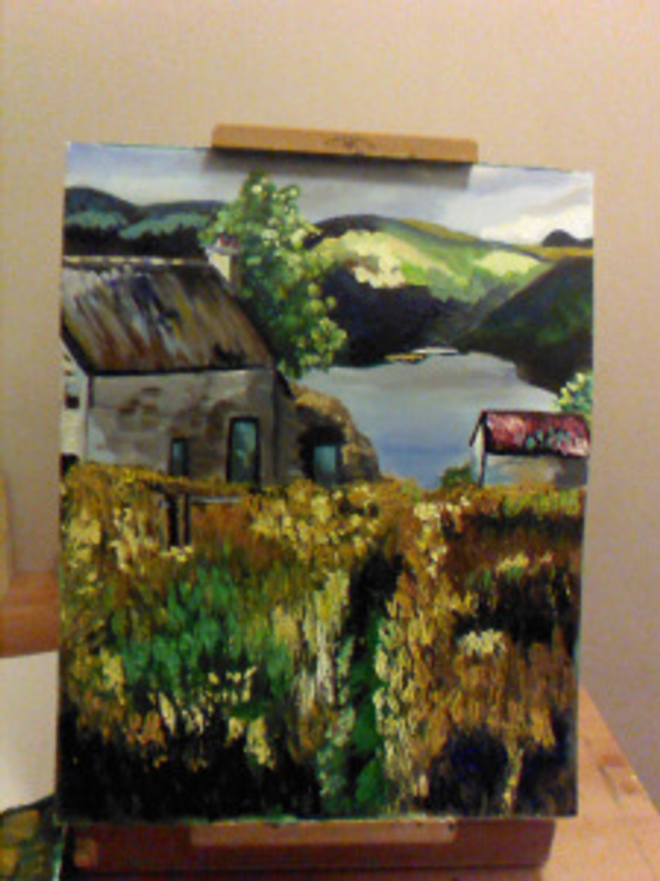 WIP-on route to Beinn Glas Farm