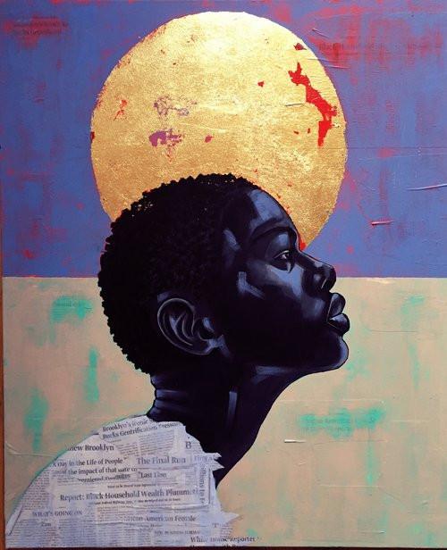 """Acrylic/ Mixed-Media on Canvas - 30"""" x 36"""""""