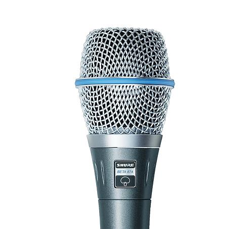 Micrófono Dinamico Super Cardiode Shure Beta 87A