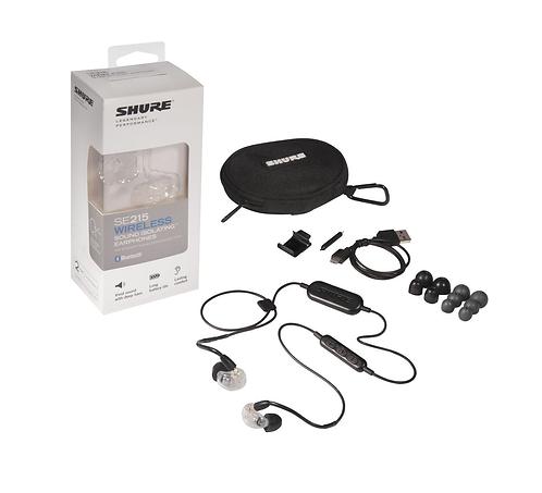 Audífono IN EAR Shure SE-215-CL-RMCE-BT1