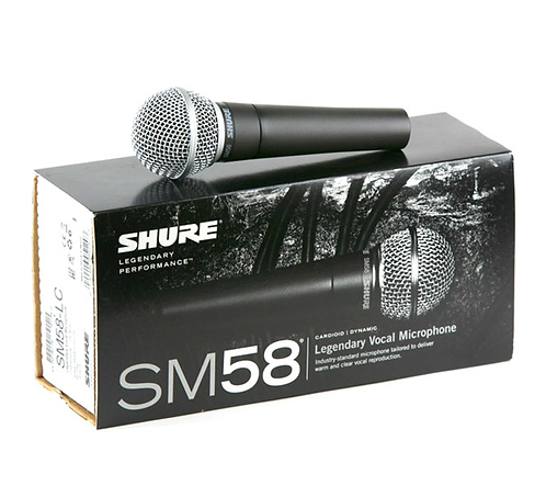 Micrófono Dinamico Shure SM58-LC
