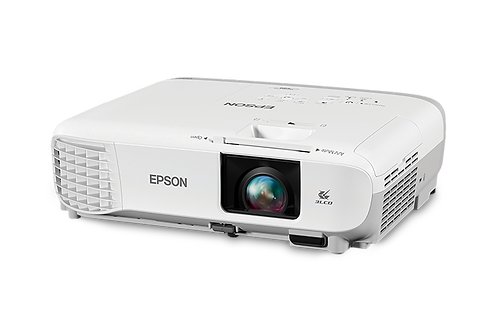 Proyector Epson X39, XGA, 3500 Lum, HDMI, RJ45