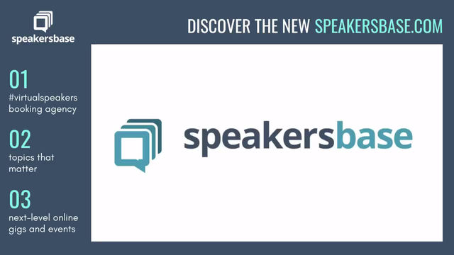 We have a lift-off with our first #virtualspeakers!