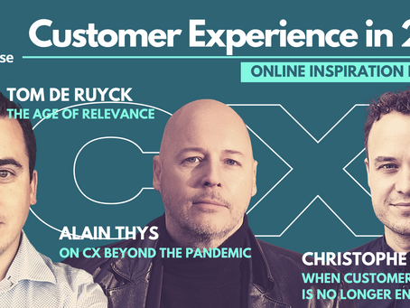 All you need to know for Customer Experience in a transformed world.