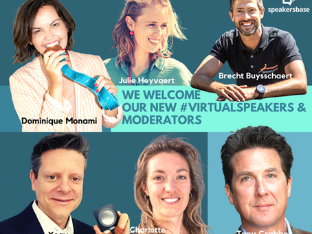 6 new speakers ready to inspire you!