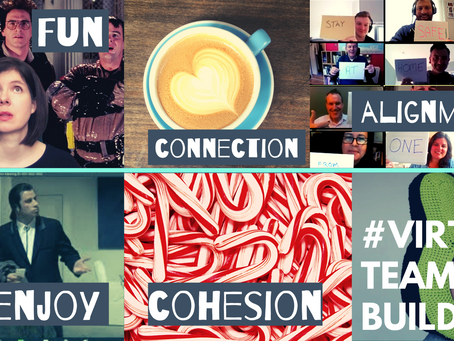 Get connected as a team #VirtualTeamBuilding!