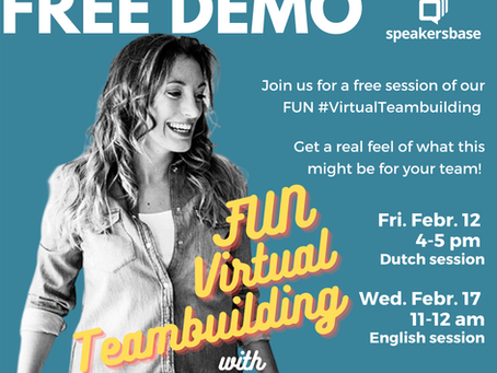 ENROLL FOR A FREE DEMO ON OUR FUN TEAMBUILDING!