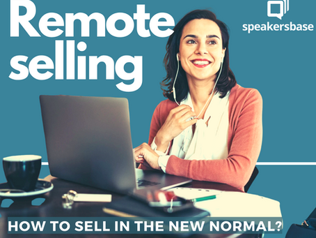 Selling in the new normal