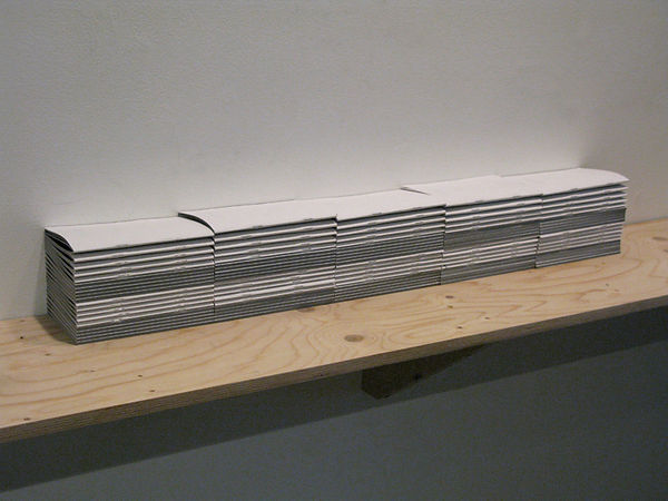 Installation view of Made by shadows