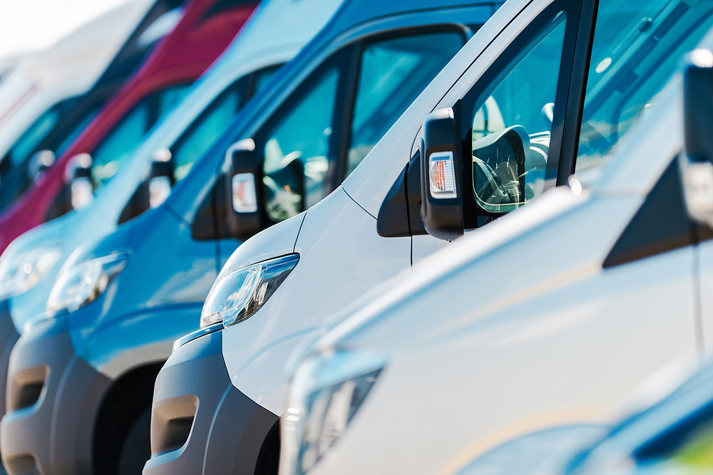 Underutilized delivery vehicles that would benefit from a fleet management software