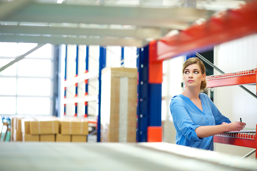 Executive using Custella to efficiently manage inventory and have full visibility of stock levels.