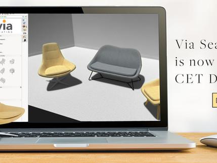 Via Seating is on CET Designer