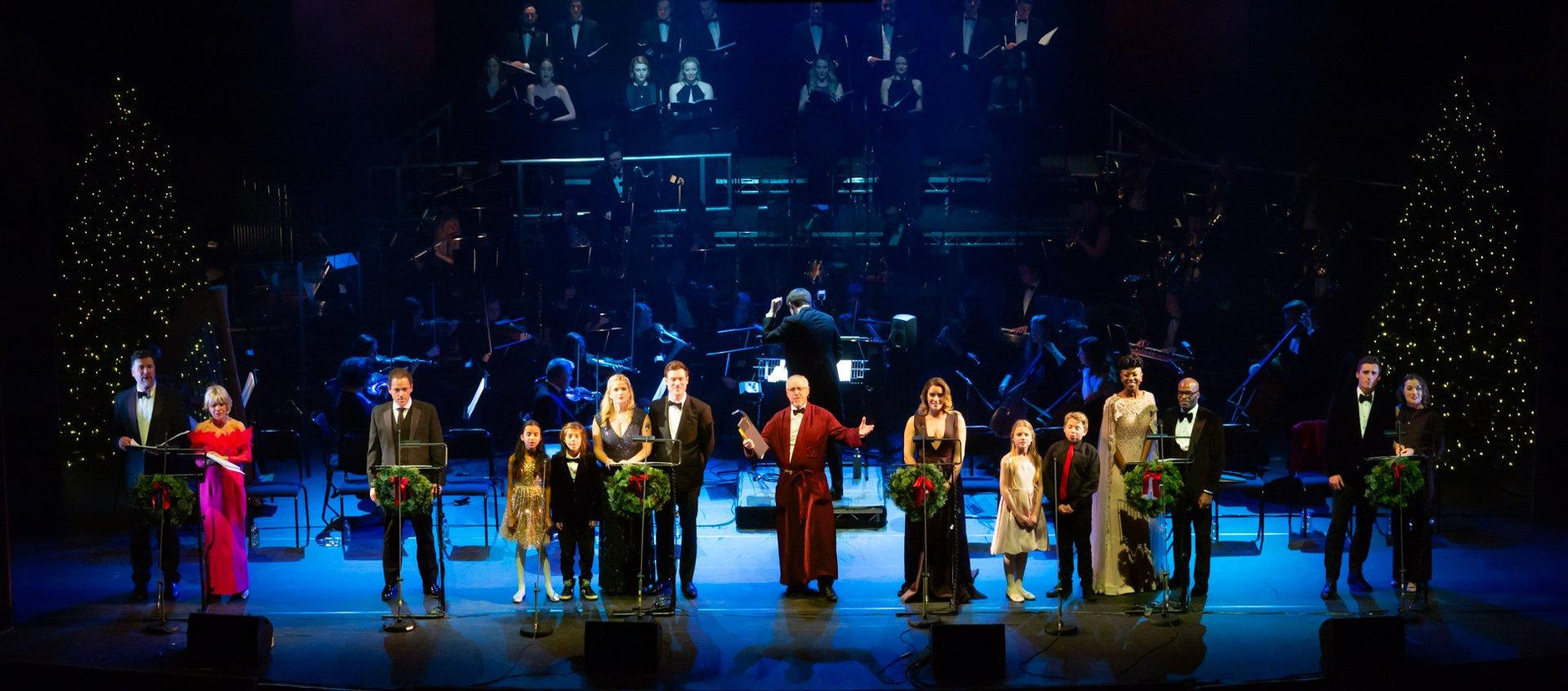 2018 A Christmas Carol in concert Lyceum Theatre