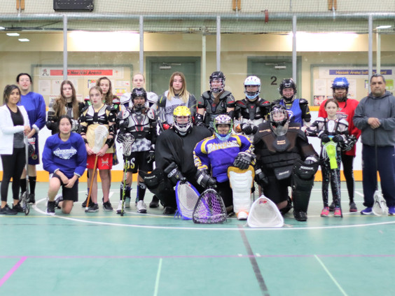 Girls Lacrosse Camp in the interior seeks to increase numbers of females playing Box Lacrosse