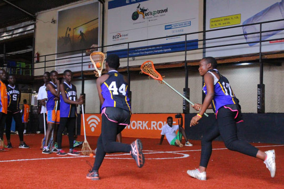 Growing Box Lacrosse in Uganda