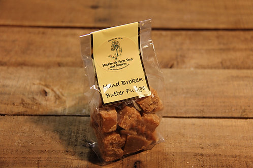 Stockbrook Farm Hand Broken Butter Fudge 150g