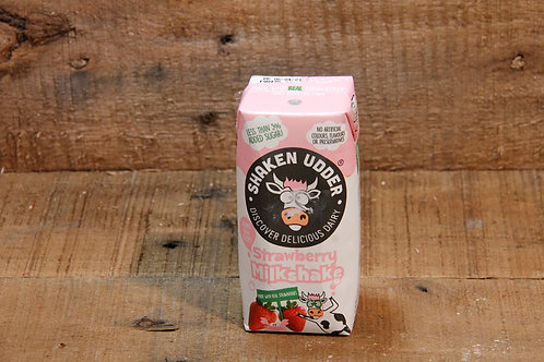 Shaken Udder Strawberry Milkshake  (200ml)