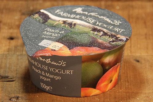 Anne Forshaws Peach & Mango Yoghurt 150g