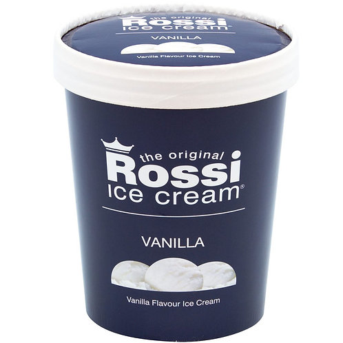 Rossi Ice Cream - Vanilla (500 ml)