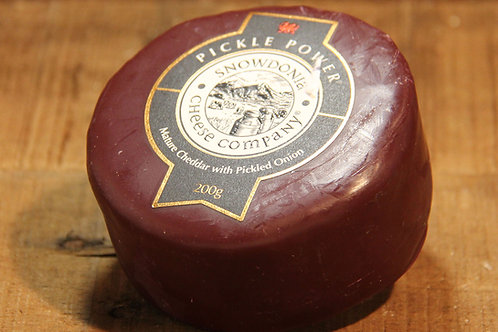 Snowdonia Cheese Co. Pickle Power Cheddar 200g