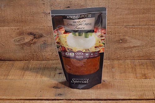 Atkins & Potts Mexican chilli con carne sauce 350g