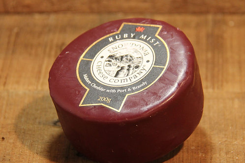 Snowdonia Cheese Co. Ruby Mist Cheddar 200g