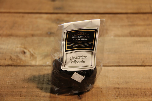 Stockbrook Farm Licorice wheels 135g