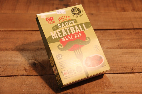 Gluten Free Spicy Meatball Meal kit 93g