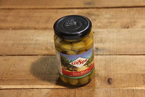 Crespo Green Olives 354g