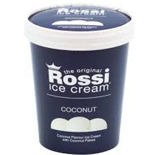 Rossi Ice Cream - Coconut (500 ml)