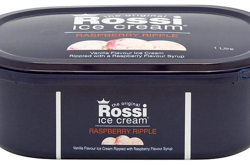 Rossi Ice Cream - Raspberry Ripple (1 Litre)