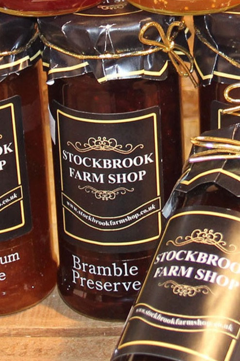 Stockbrook Farm Shop Bramble Preserve 340g