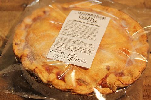 Real Pie Co.  Steak & Stout Pie (large)