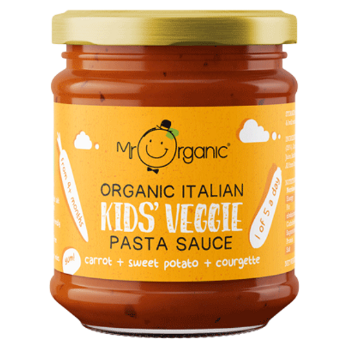 Mr. Organic Kids Carrot Pasta Sauce 200g
