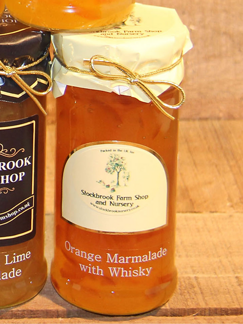 Stockbrook Farm Shop Orange with Whiskey Marmalade 340g