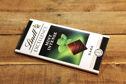 Lindt  Dark Mint Intense Chocolate Bar