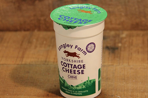 Langley Farm Cottage Cheese with Chives 250g