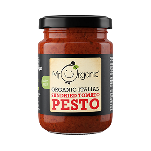 Mr. Organic Italian Sun-dried Tomato pesto 130g