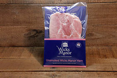 Wicks Manor Unsmoked Ham 200kg