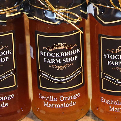 Stockbrook Farm Shop Seville Orange Marmalade 340g