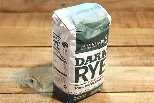Marriages Dark Rye Wholemeal Flour
