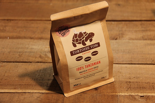 Tortoise Tom 100% Tanzanian Coffe 250g