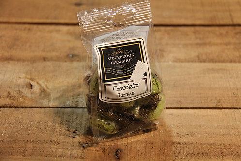 Stockbrook Farm Chocolate Limes 160g