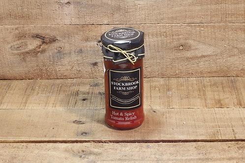 Stockbrook Farm Shop Hot & Spicy Tomato Relish 280g
