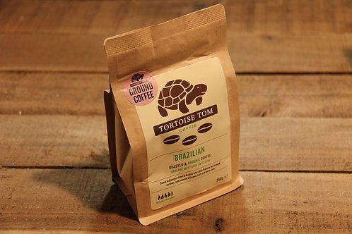 Tortoise Tom 100% Brazilian Coffee 250g