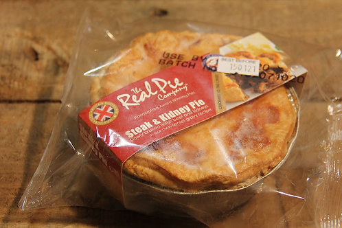 Real Pie Co. Steak and Kidney Pie (small)