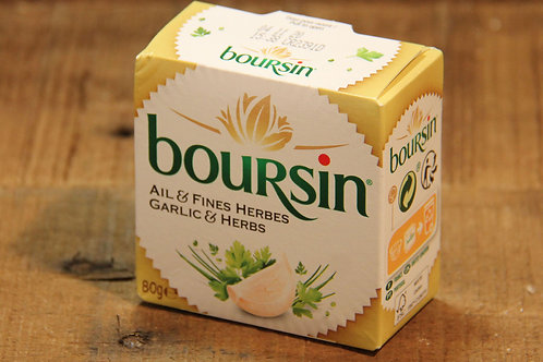 Boursin Garlic & Herbs Cheese 80g