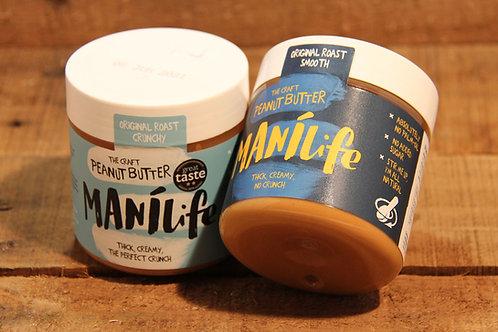 Manilife Original Roast Crunchy Peanut Butter 295g